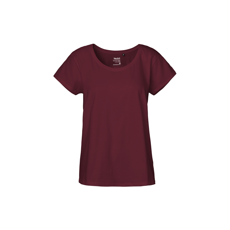 Locker-geschnittenes-Neutral-Ladies-Loose-Fit-Shirt-O81003-Bordeaux-Front-500x500.png