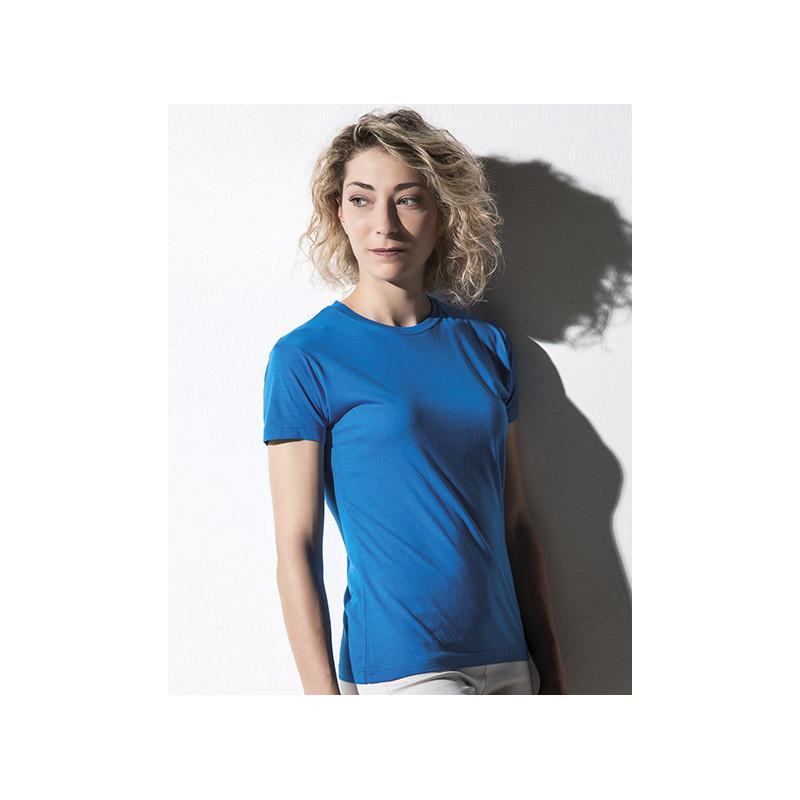 Damen-Crew-Neck-aus-Bambus-Viskose-Nakedshirt-Womens-Viscose-Cotton-T-Shirt-Lily-NA508012