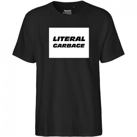 Klassisches Unisex Shirt mit 1-färbigem Aufdruck
