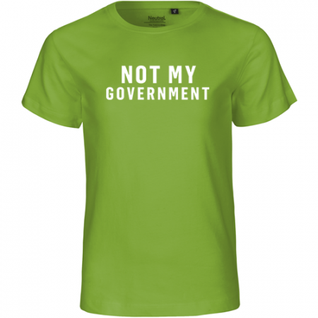 NOT MY GOVERNMENT Kinder T-Shirt