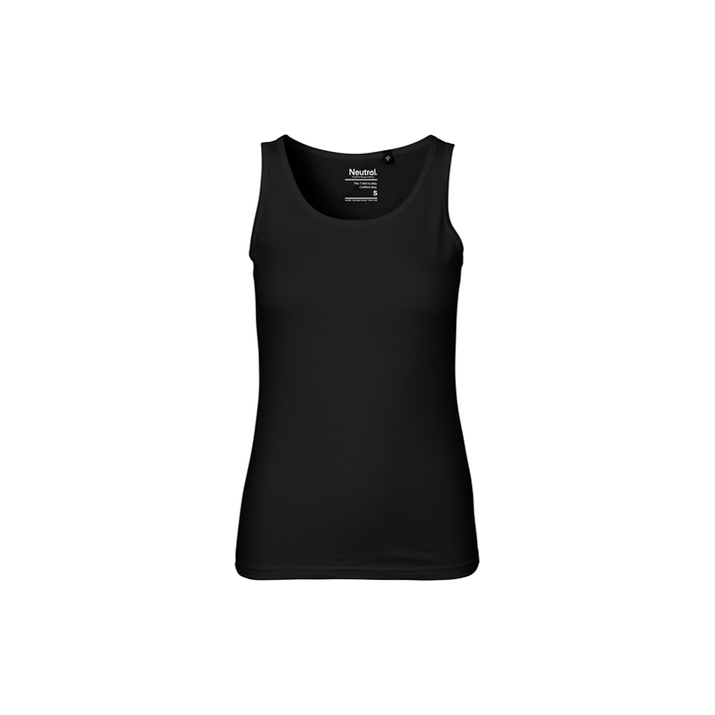 Neutral-Ladies-Tanktop-O81300-Black-Front-500x500