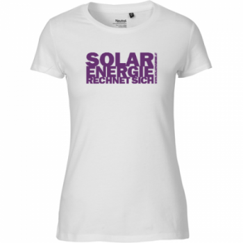 Solar T-Shirt Damen violett