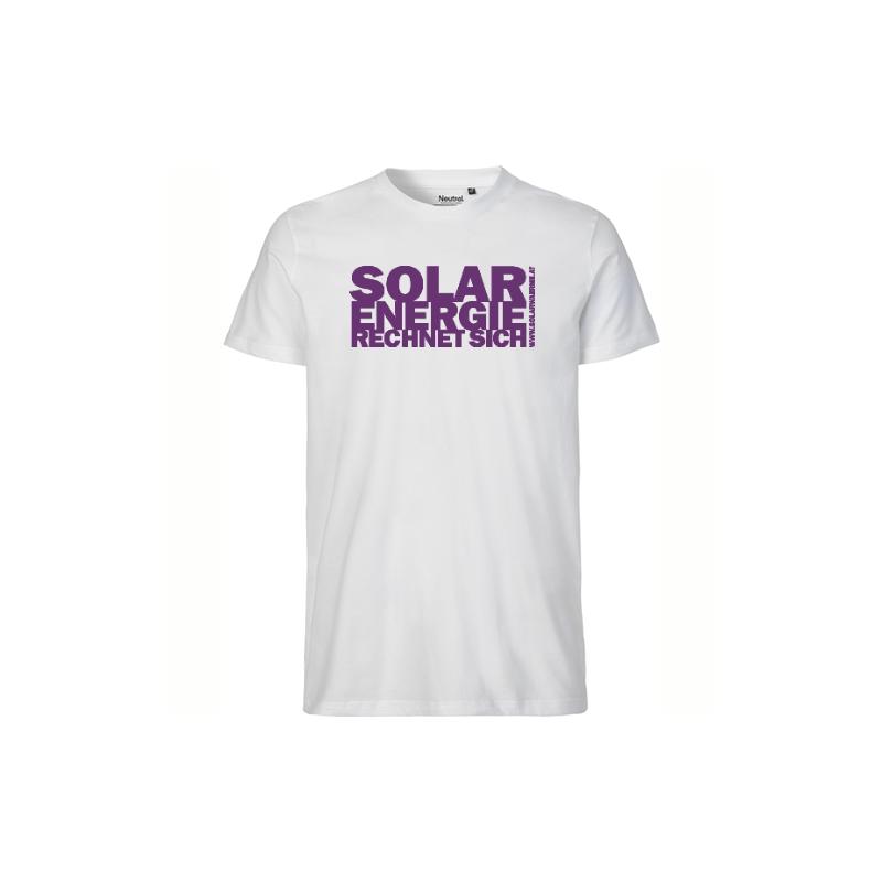Solar T-Shirt Herren Violett
