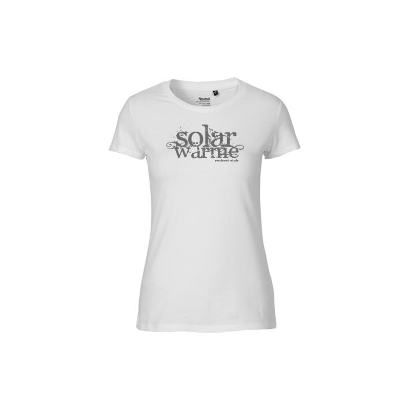 Solar T-Shirt Frauen Grau